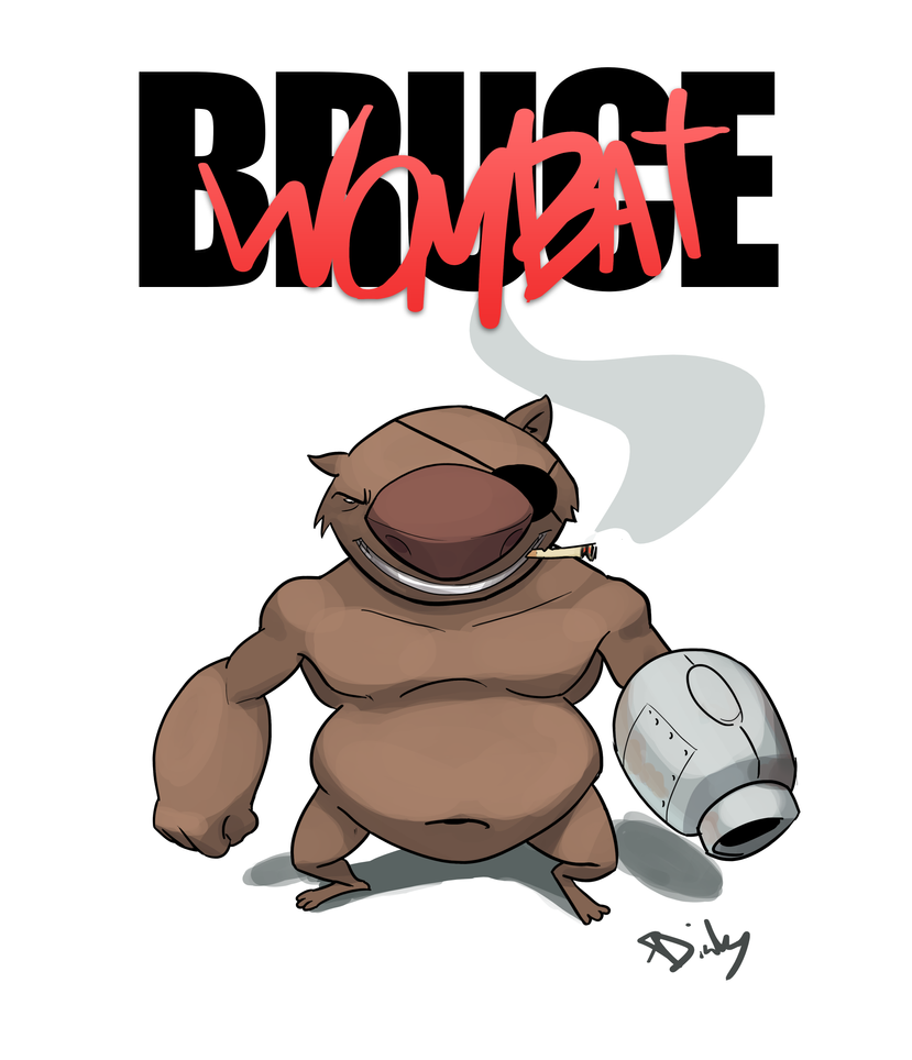Mortal Wombat by XDinky