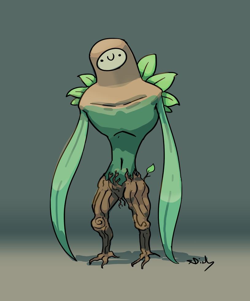 Leaf Man by XDinky