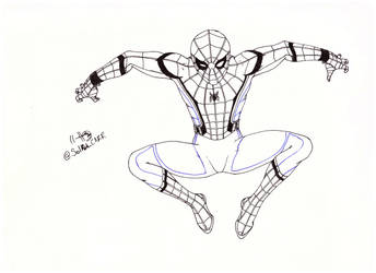 Spiderman Para Colorear By Solrakyc On Deviantart
