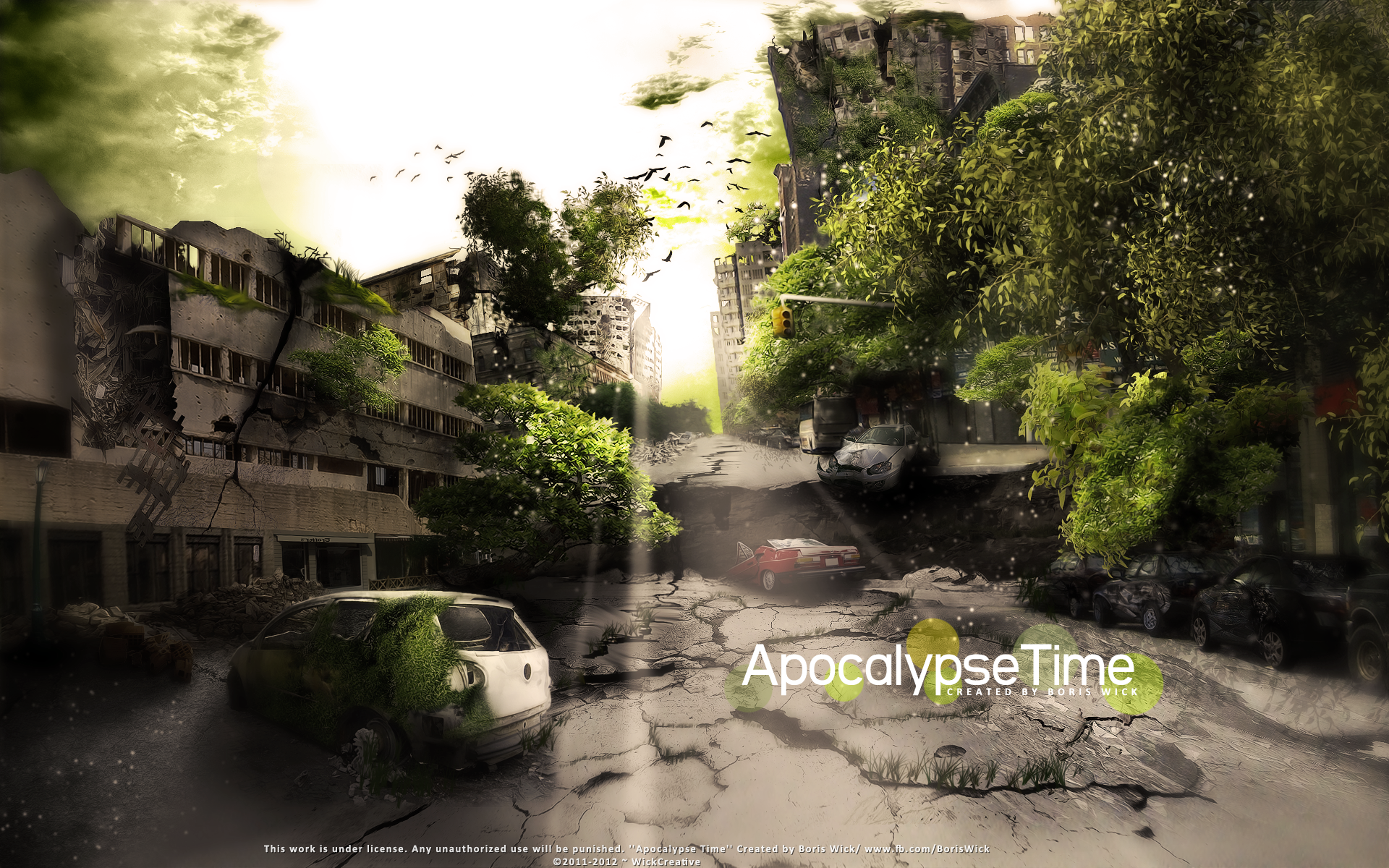 Apocalypse Time -SpeedArt by BorisWick