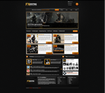 Game Hosting template - SOLD