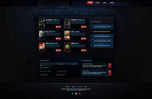 ProfessionalGamers Web Template -SOLD by BorisWick