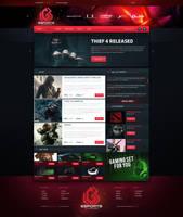 LGB eSport Web Design