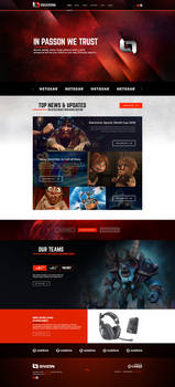Divizon eSport Branding and Gaming Template
