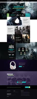 PixieHype Gaming - eSport WordpPress Theme