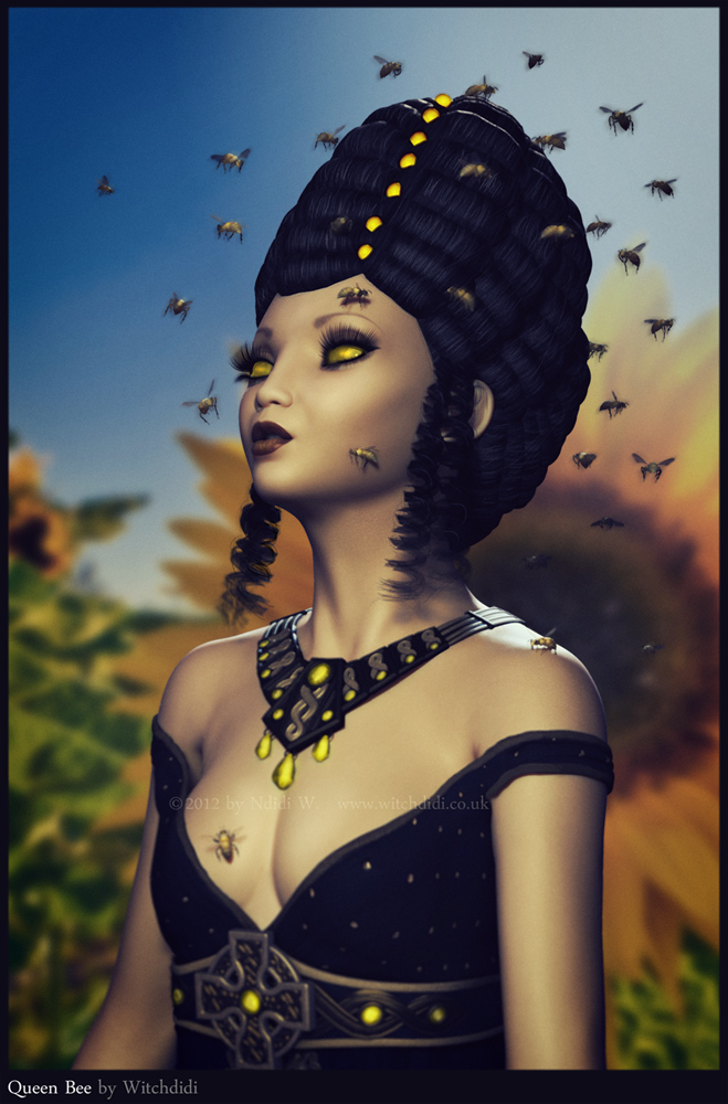 Queen Bee by witchdidi