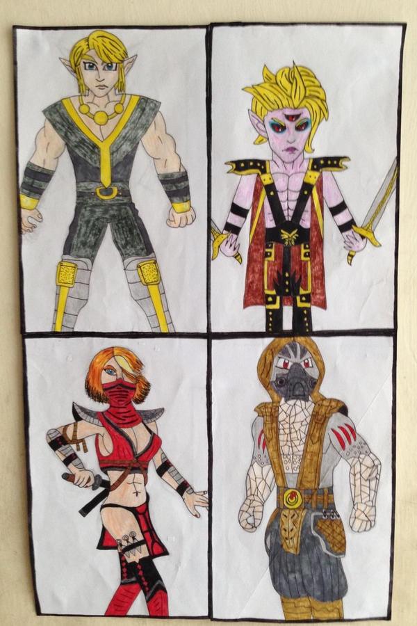 Mortal Kombat Armageddon Characters by dragonpriness on DeviantArt