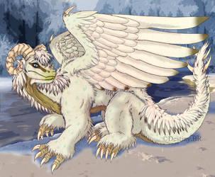 Dragon White by Destinyblackrose