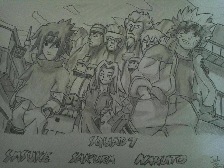 Squad 7 by ZeroHunter112