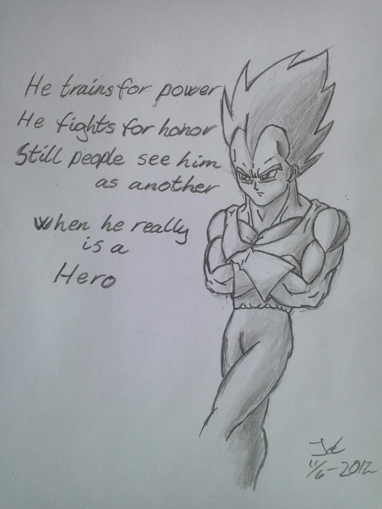 Vegeta by ZeroHunter112