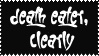 Death Eater, Clearly Stamp by Piishii-isdzan