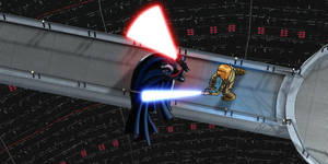 The Duel in the Reactor Core
