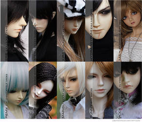 My dolls by LisenaKira