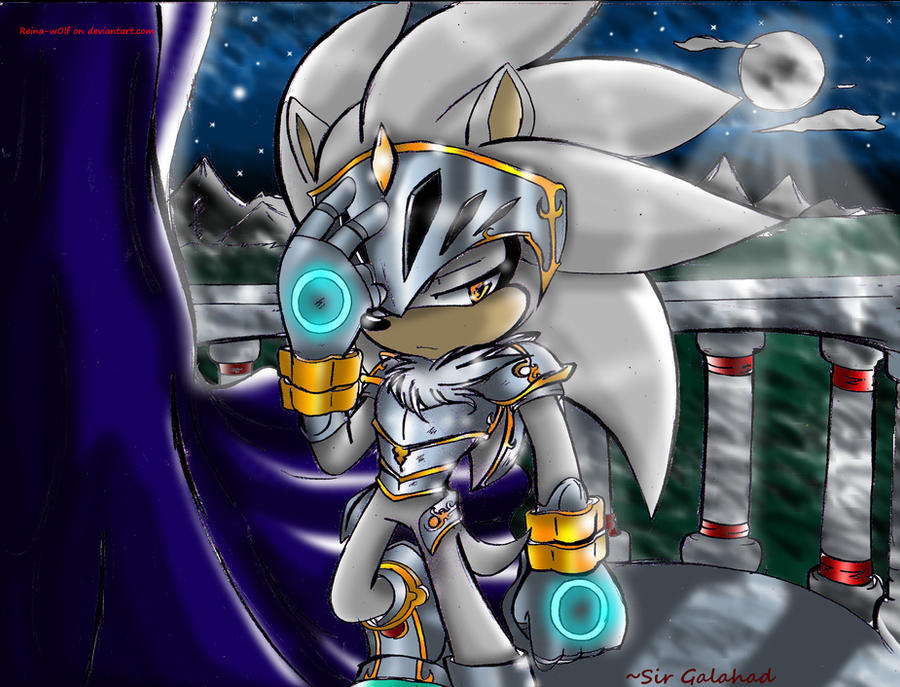 ~Sir Galahad (silver The Hedgehog) By Reina-wOlf On DeviantArt