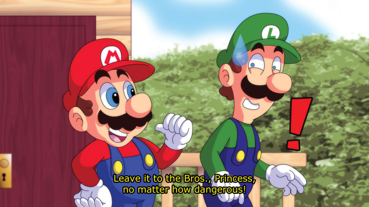 Super Mario Anime Screencap 1 by Agu-Fungus