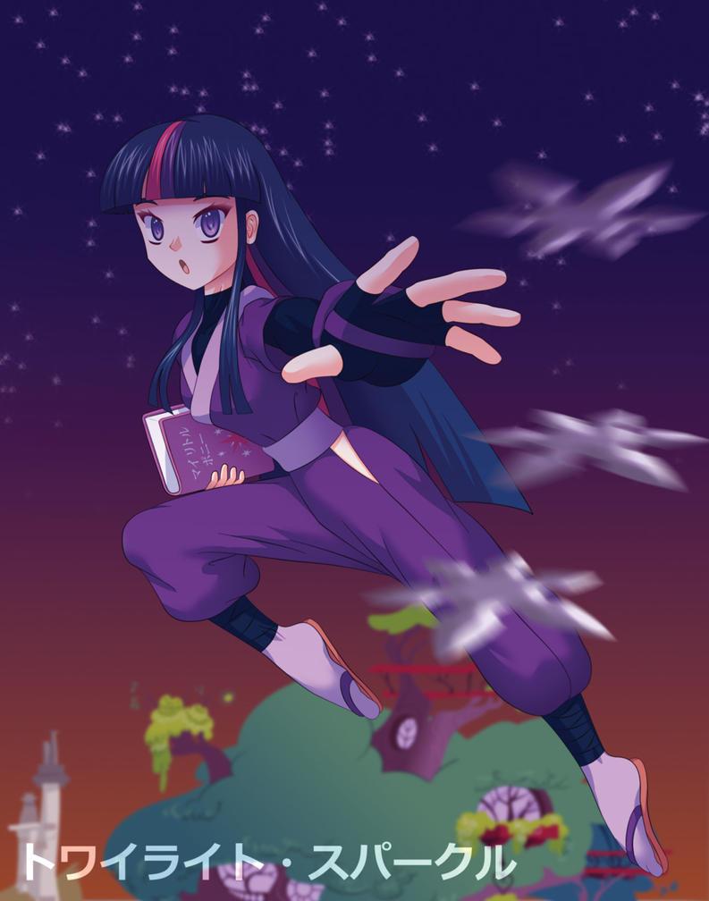 Ninja Twilight Sparkle by Agu-Fungus