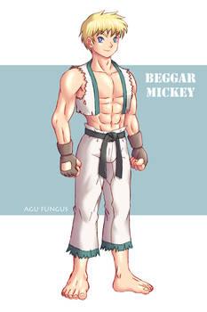 Taekwondo Beggar, for Yuni