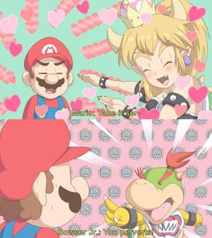 Mario x Dragon Maid Parody 1