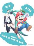 Miku + Mario Day