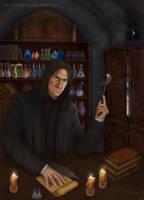 Snape by merggiona