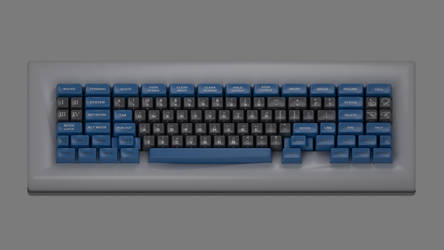 Space-Cadet Keyboard by default-cube