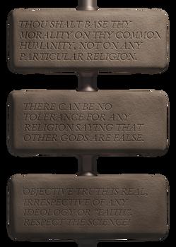 The Humanist Commandments