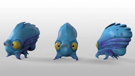 Zombie Jellyfish Vistas by lufum88