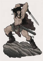 Conan Color by Baldeon