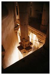 column of an indian temple