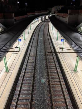 Train Station @ Night