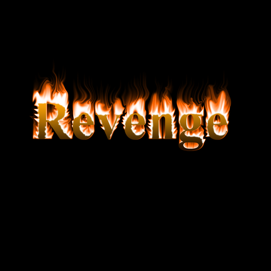 Image result for the word revenge