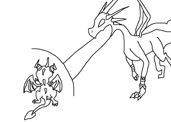 spyro and cynder coloring pages - photo#25