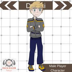 Male Player Character - Dyami