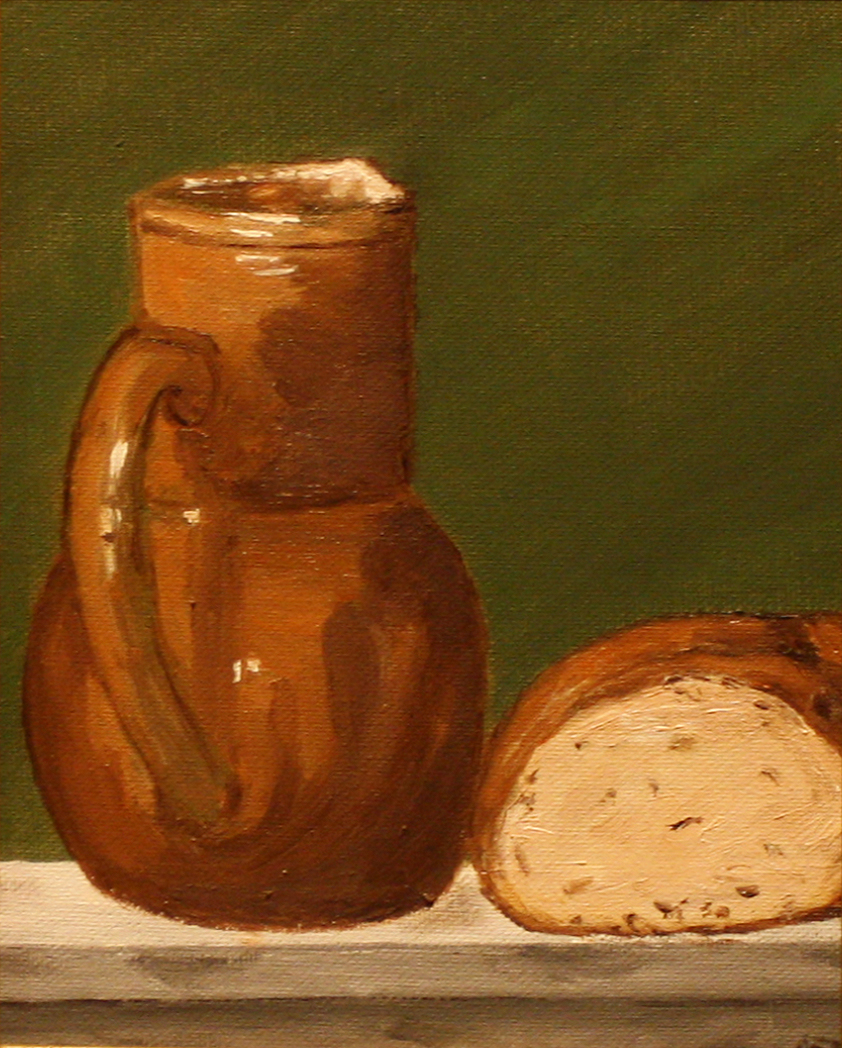 Bread and Water- Still Life1