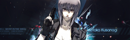 Ghost in the Shell Sig by Seviorpl
