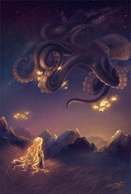 Octopus's garden by Tiphs