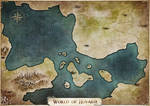 Map commission - the world of Huvaria