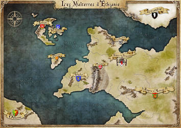 Commission : Les Malterres d'Ethianie map by Tiphs