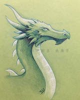 Green dragon by Tiphs