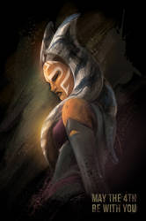 May the 4th be with you 2017 - Ahsoka Tano by Tiphs