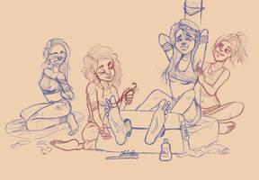 -Sketch- Sleepover