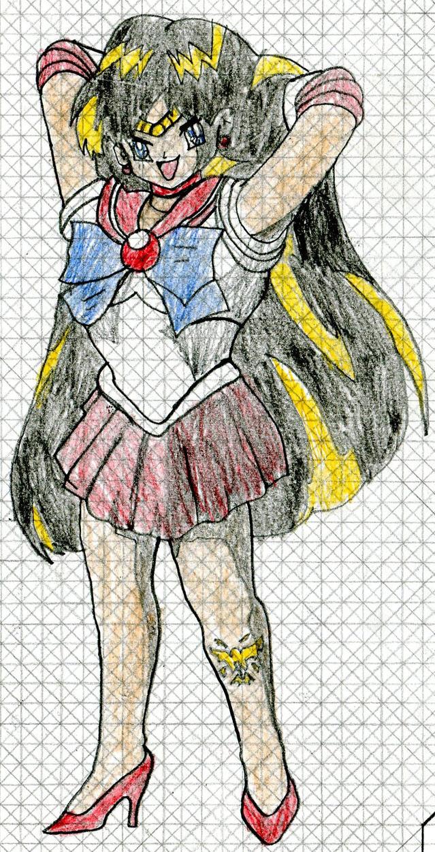 Sailor Moon Monster Dimension - Sailor Mars by MJW1915