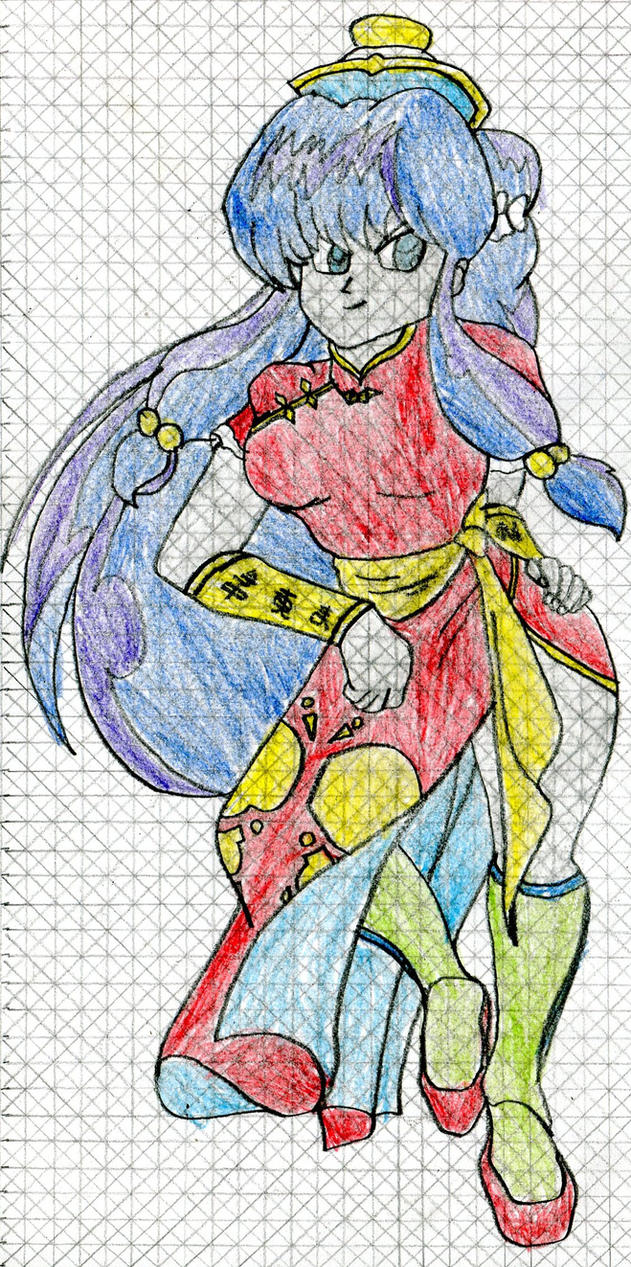 Ranma 1/2 Monster Dimension - Shampoo by MJW1915