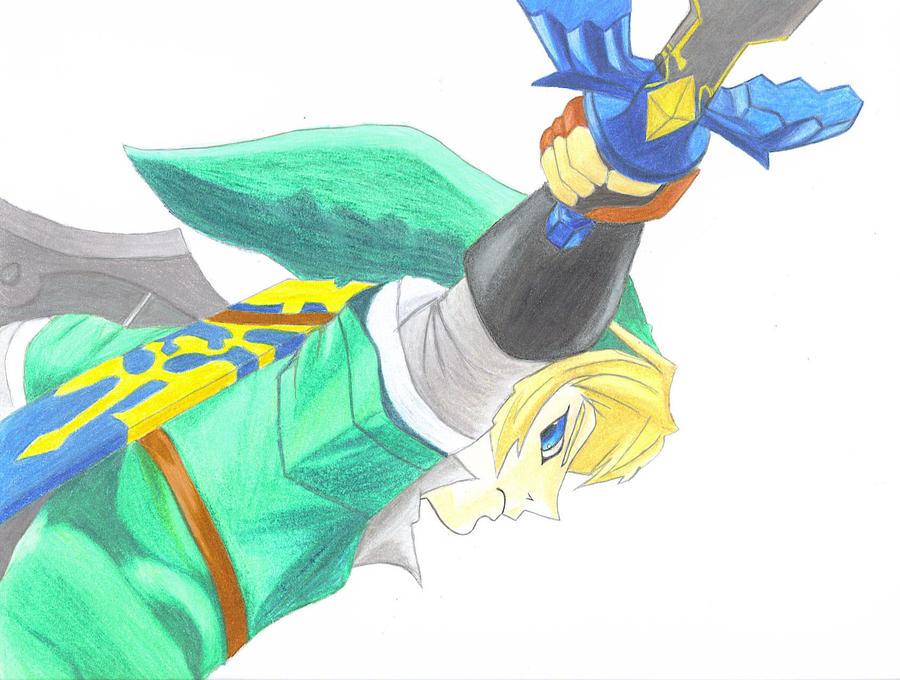 Skyward Sword by zeldalilly