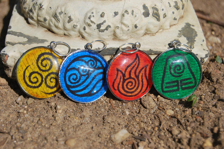 Nation pendants by zeldalilly