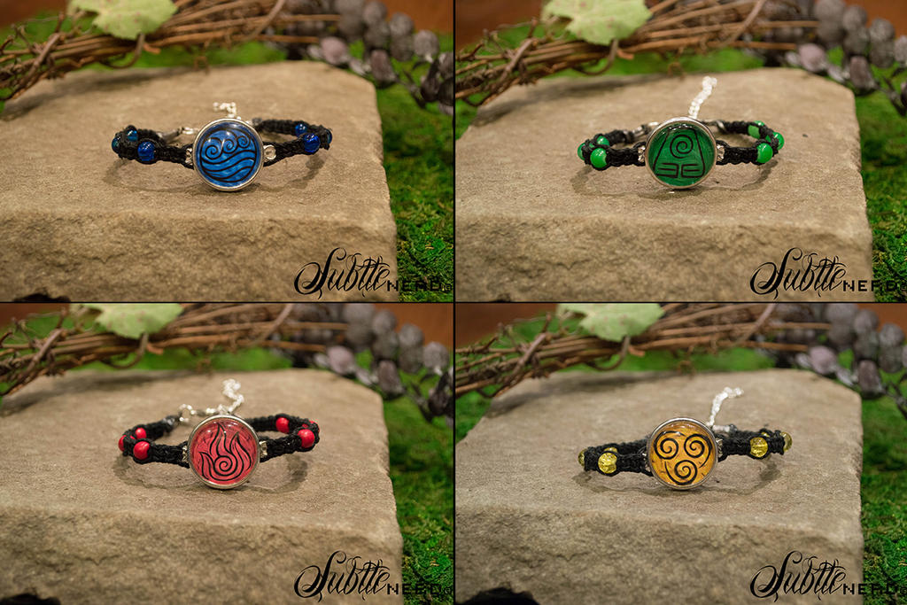Avatar Bracelets by zeldalilly