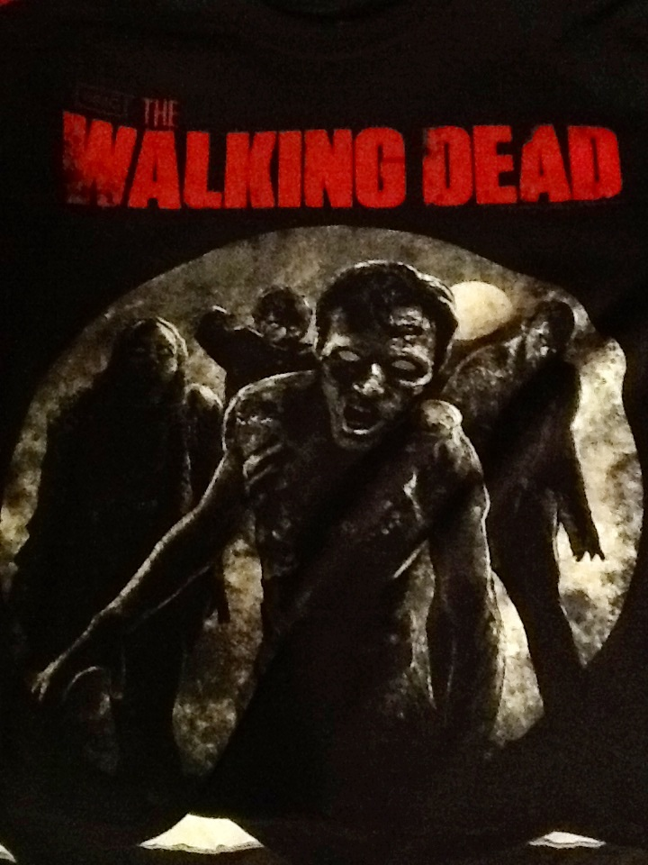 Walking dead shirt by HanbusaZERO