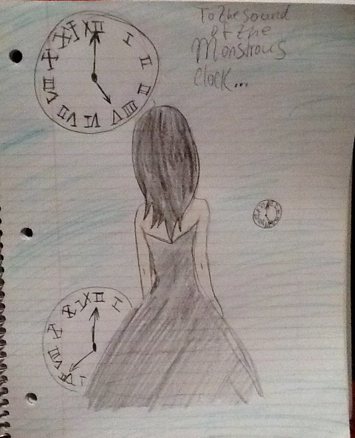 To the sound of the monstersous clock by HanbusaZERO