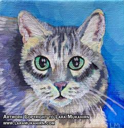 Commission: Cat Portrait