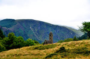 Tower - Old Cemetary in Glendalough - Ireland